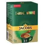 Напиток кофейный Jacobs 3в1 Лесной орех растворимый 15г х 24шт