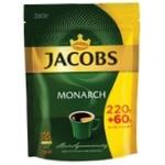 Кава Jacobs Monarch розчинна 220+60г