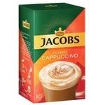 Напиток кофейный Jacobs Cappuccino Classic растворимый 18,7г х 10шт
