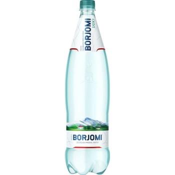Вода Borjomi мінеральна сильногазована пластикова пляшка 1,25л