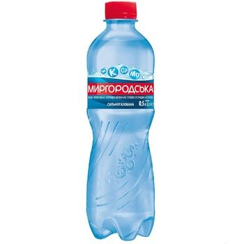 Sparkling water Mirgorodska plastic bottle 0,5l - buy, prices for EKO Market - photo 1