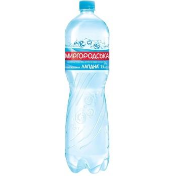 Light sparkling water Myrgorodska Lagidna 1,5l