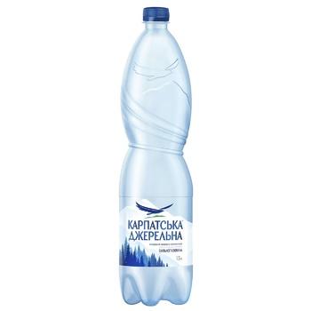 Sparkling mineral water Karpatska Dzherelna 1,5l - buy, prices for CityMarket - photo 1
