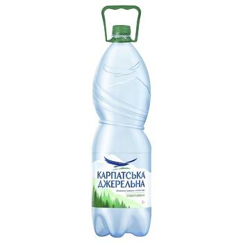 Light sparkling mineral water Karpatska Dzherelna 2l
