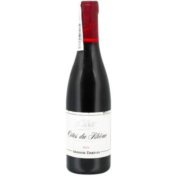 Вино Armand Dartois Cotes du Rhone красное сухое 11% 0,375л
