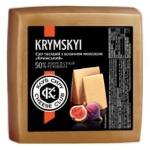 Сир Клуб Сиру Кримський твердий з козиним молоком 50%