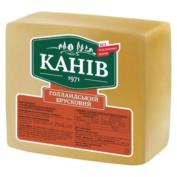 Сыр Канев 1971 Голландский твердый 45%