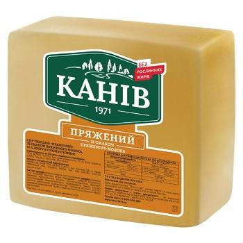 Сыр Канев 1971 Пряженый твердый 50%