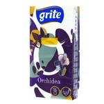 Платочки бумажные Grite Orchidea четырехслойные 9шт