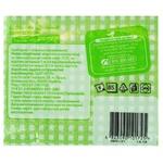 Auchan Napkins paper single-layer green 85pcs