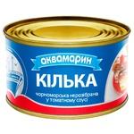 Кілька Аквамарин Чорноморська нерозібрана в томатному соусі 230г - купити, ціни на ЕКО Маркет - фото 1