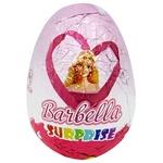 Яйцо шоколадное Monzhar Barbella с сюрпризом 25г