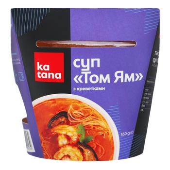 Tom Yam Katana Soup with Shrimp 350g - buy, prices for Auchan - photo 1