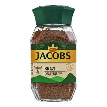 Кофе Jacobs Brazil растворимый 95г