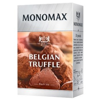 Monomax Belgian Truffle Ceylon Leaf Black Tea 80g - buy, prices for Auchan - photo 1