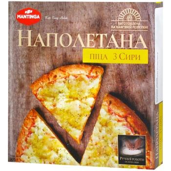 Піца Mantinga Napoletana Три сири швидкозаморожена 305г