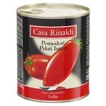 Casa Rinaldi Peeled Tomatoes in Own Juice 800g
