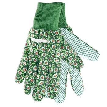 Перчатки Palisad садовые из ПВХ точкой размер L - купить, цены на Ашан - фото 1