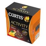 Чай черный Curtis Activity Имбир и грейпфрут в пирамидках 18шт 32,4г