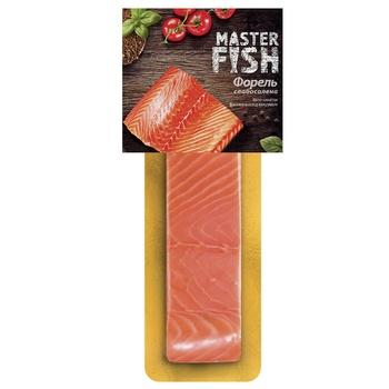 Форель Master Fish филе-кусок слабосоленая 130г