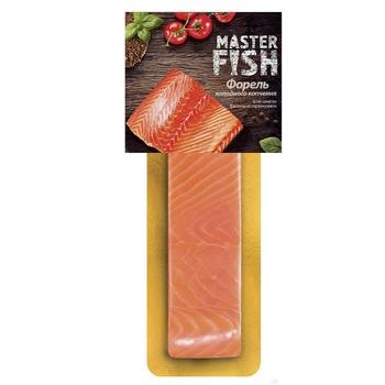 Філе форелі Master Fish холодного копчення 180г