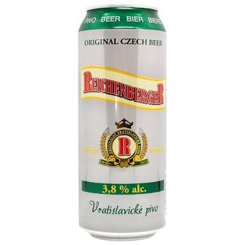 Пиво Konrad Reichenberger світле з/б 3,8% 0,5л