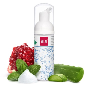 Splat Oral Care Foam сleansing foam for teeth and gums 2 in 1 with mint flavor 50ml - buy, prices for Auchan - photo 2