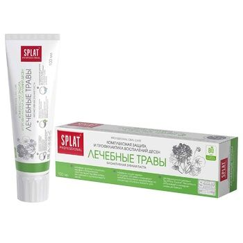 Splat Professional Medical Herbs Against Bacteria And Caries Protection Toothpaste 100ml