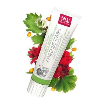 Зубная паста Splat Professional Medical Herbs защита от бактерий и кариеса 100мл - купить, цены на Ашан - фото 6