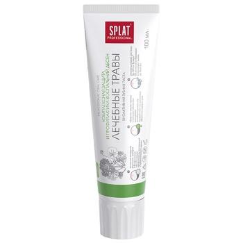 Зубная паста Splat Professional Medical Herbs защита от бактерий и кариеса 100мл - купить, цены на Novus - фото 3