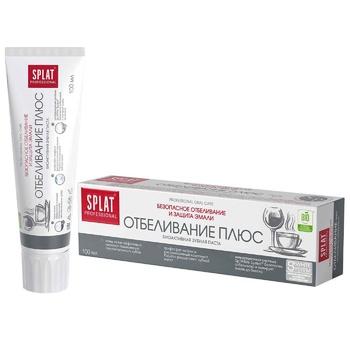 Паста зубная Splat Professional отбеливающая плюс 100мл - купить, цены на СитиМаркет - фото 2