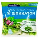 Салат Fit & Easy Микс со шпинатом 120г