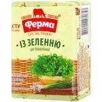 Сир плавленый Ферма С зеленью 55% 90г