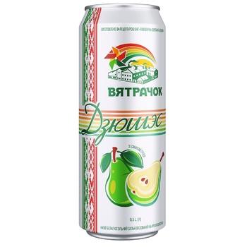 Напиток Вятрачок Дюшес безалкогольный сильногазированный ароматизаторах ж/б 0,5л