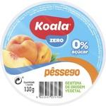Желе фруктовое Koala персик без сахара 130г