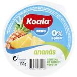 Желе фруктовое Koala с ананасом без сахара 130г