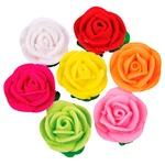 Набор украшений Добрик Розы с листьями микс