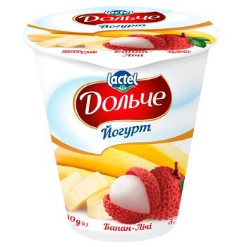 Йогурт Дольче Банан-личи 3,2% 280г