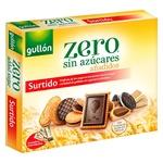 Печиво Gullon Diet Nature с подсластителем без сахара ассорти 319г