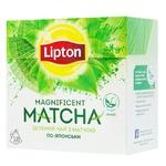 Lipton Magnificent Matcha Green Tea with Matcha Extract 25pcs x 1,8g