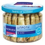 Norven sprats in oil 300g