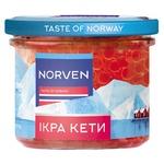 Икра лососевая Norven кеты зернистая 110г