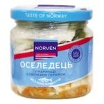 Сельдь Norven в маринаде с овощным гарниром 190г