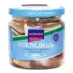 Сельдь Norven в кисло-сладком маринаде 190г