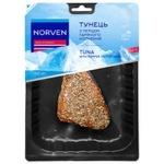Тунець філе Norven горячего копчения з перцем 300г