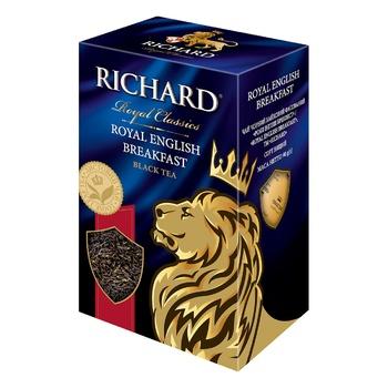 Richard English Breakfast black tea 90g - buy, prices for Auchan - photo 1