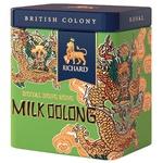 Чай зелений Richard Milk Oolong ж/б 50г - купити, ціни на Ашан - фото 1