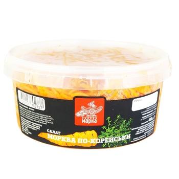 Салат Чудова марка Морковь по-корейски 400г - купить, цены на Ашан - фото 1