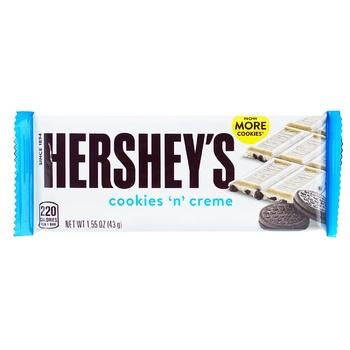 Шоколад Hershey's белый с печеньем и кремом 43г