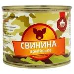 Свинина Семейный вкус Армейская тушеная 525г